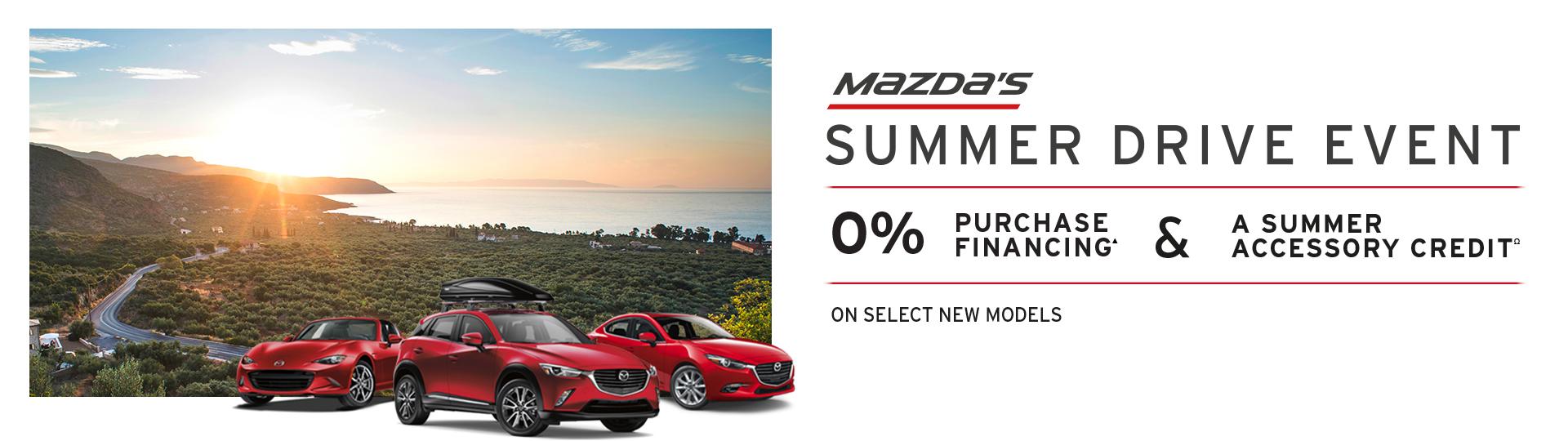 Mazda's Summer Drive Event