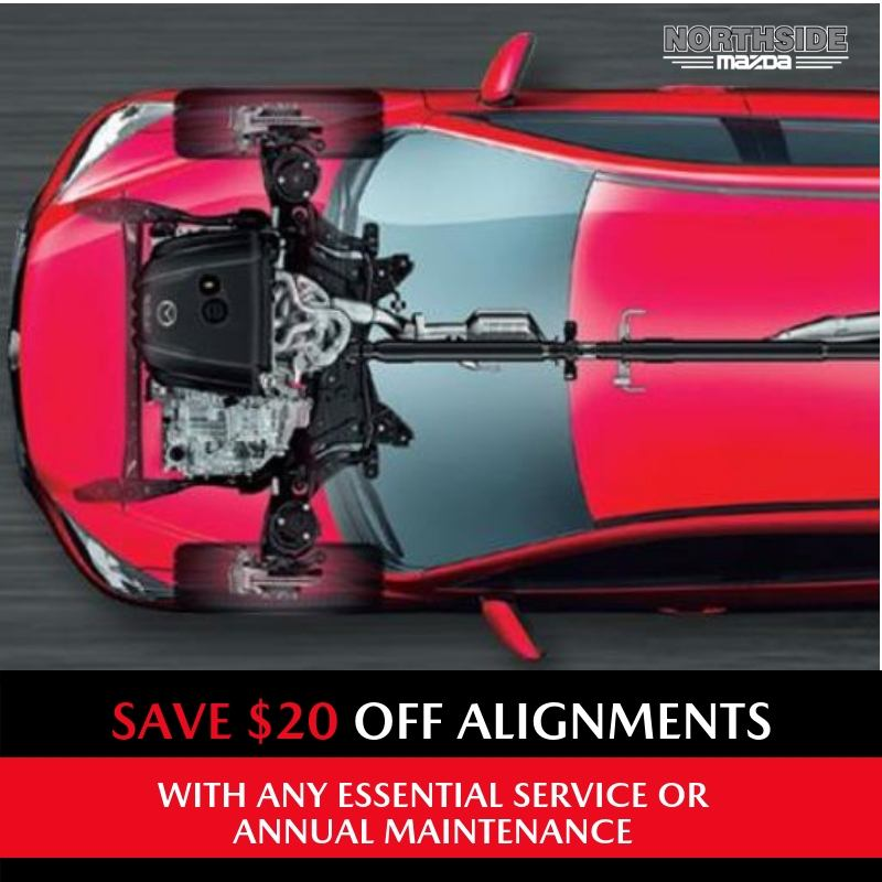 $20 OFF ALIGNMENTS