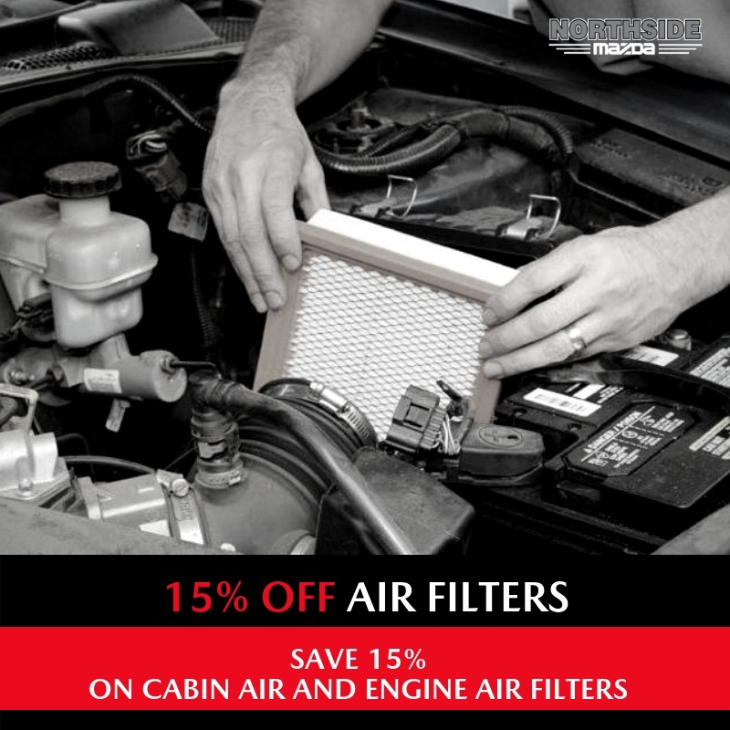 15% OFF AIR FILTERS