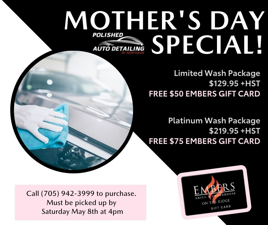 Detail Packages – FREE Embers Gift Card